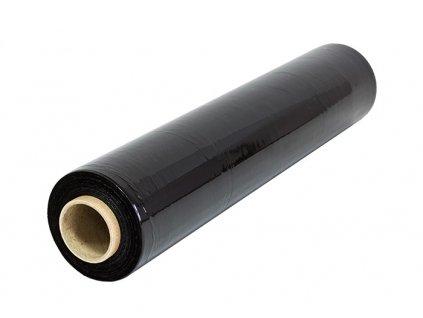 Stretch fólie ruční černá - 50cm / 23my / 3kg, návin 300 m