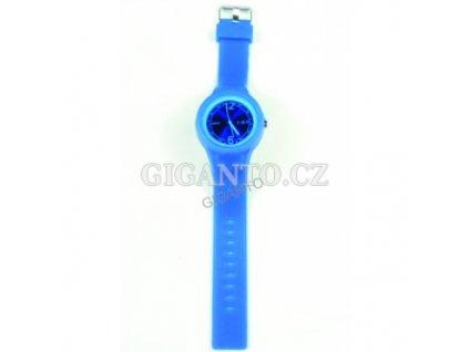 GNT Moderní silikonové hodinky  modré