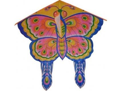 Létající drak motýl - nylon
