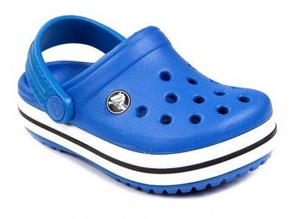Crocband Clog Kids Bright Cobalt Modrá 21-22