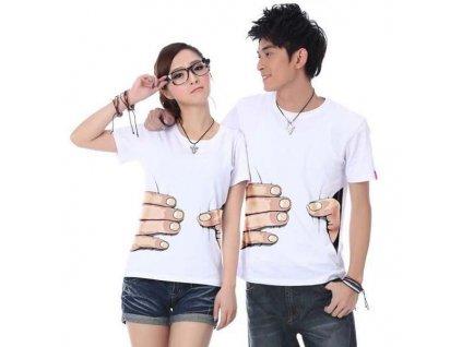 GNT Tričko ruka 3D unisex