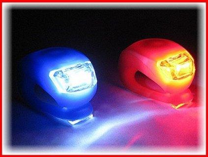 Diodové světla na kolo 2x LED světlo