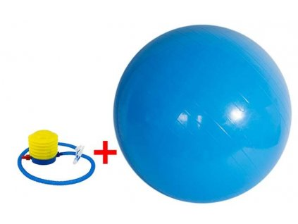 Fitness gymnastický míč 650 mm + pumpa