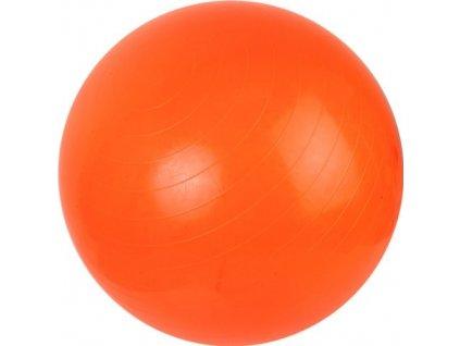 Fitness gymnastický míč 650 mm + pumpa, oranžový