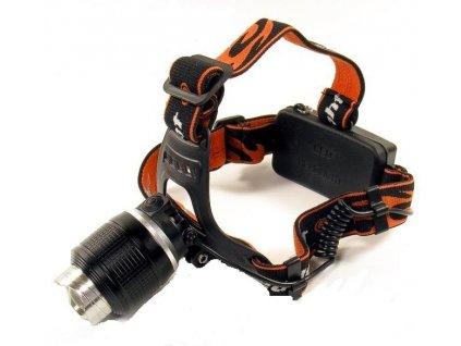 Čelovka CREE LED ZOOM T6  8W  nabíjecí
