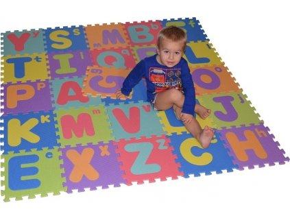 Pěnová podložka puzzle Abeceda 26ks
