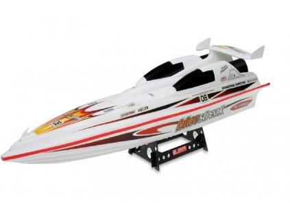Double Horse Závodní sportovní člun 7008 bílá 1:10