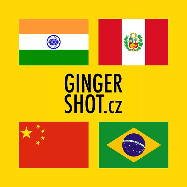 Běžně dostupný zázvor pochází především z těchto zemí. I v našem výběru jsme pracovali se zázvory z Brazílie, Indie, Peru a Číny.