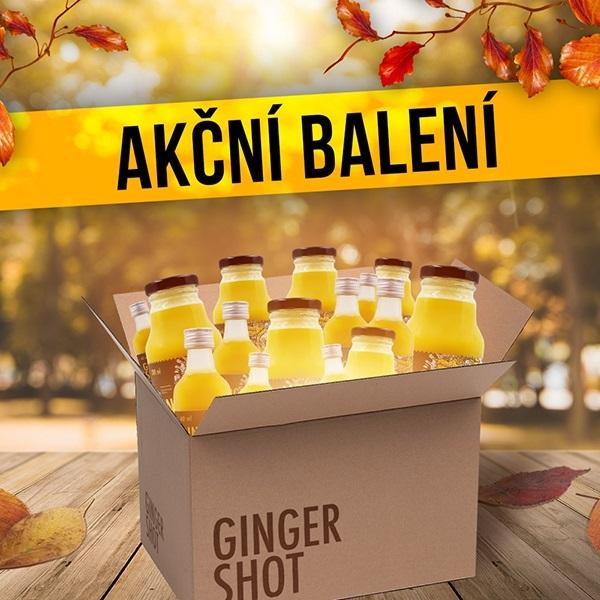 Kompletní nabídka Ginger Shotů