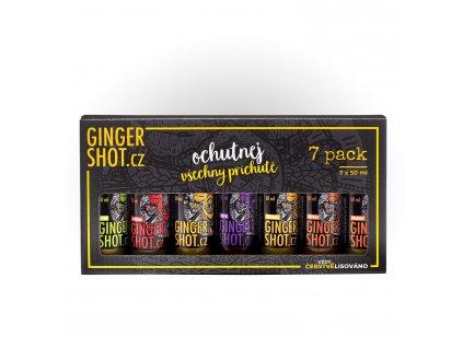 Degustační balíček + Ginger Shot Coffee ZDARMA