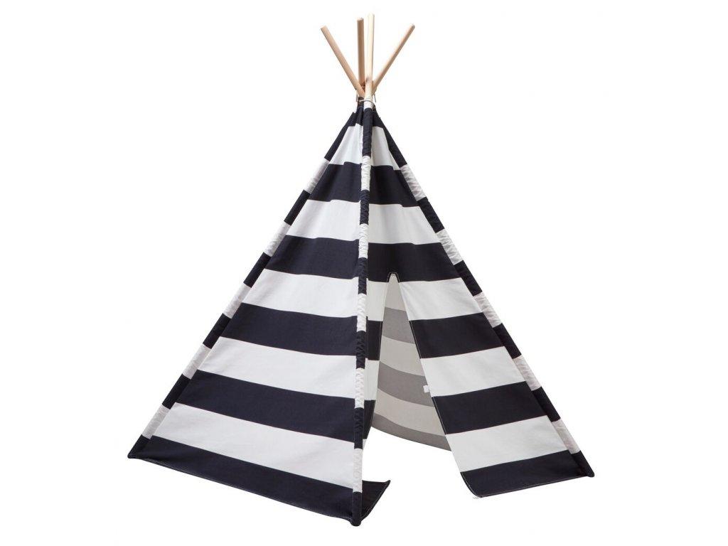 1000126 Tipitent Black White Stripe 2