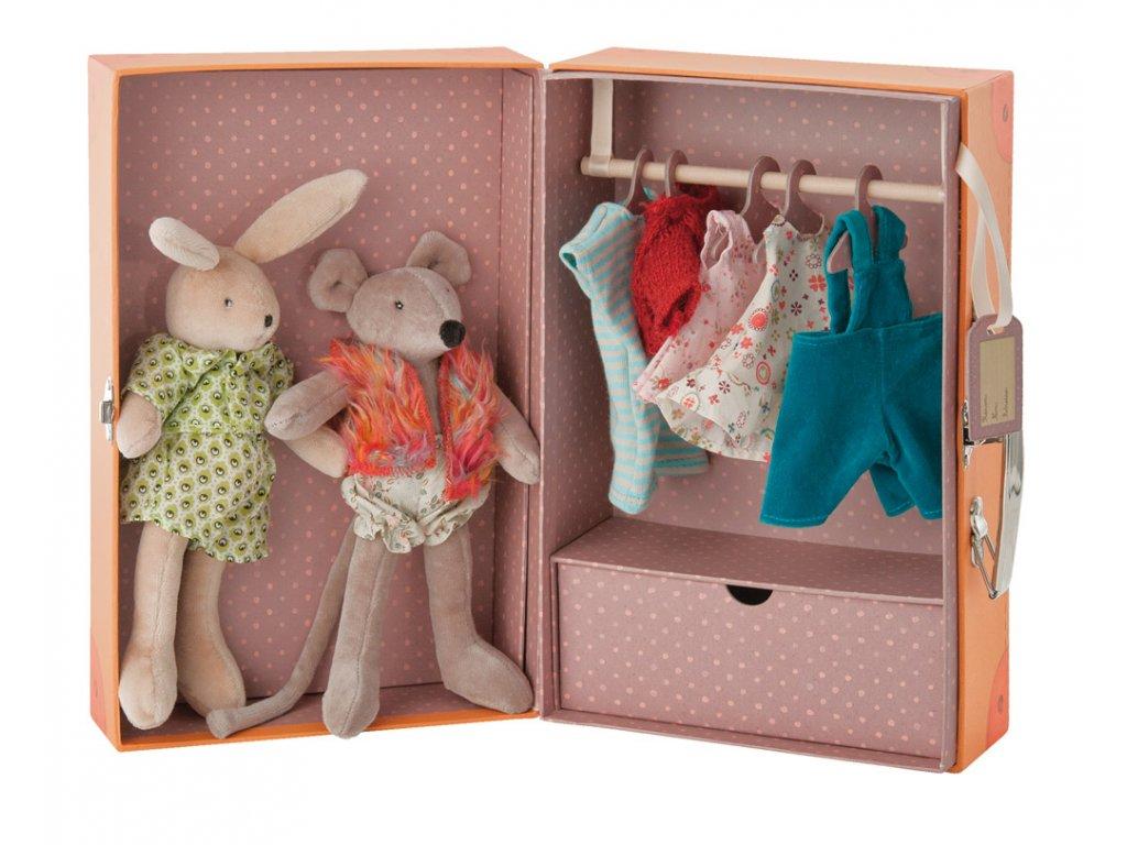 kufřík malá šatní skříň