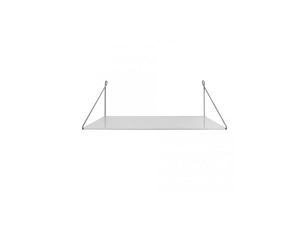 stůl závěsný šedý