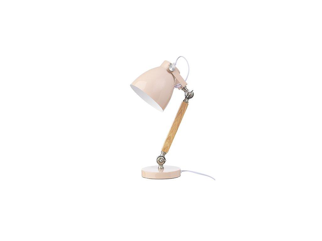 LAMPA STOLNÍ - RŮŽOVÁ