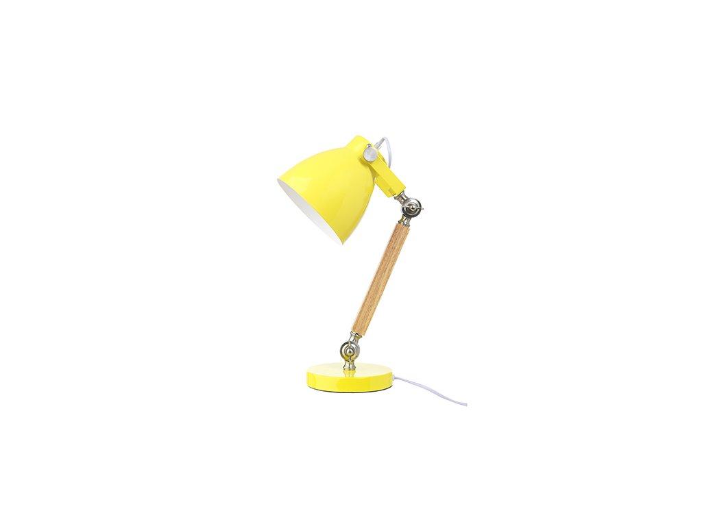 LAMPA STOLNÍ - ŽLUTÁ