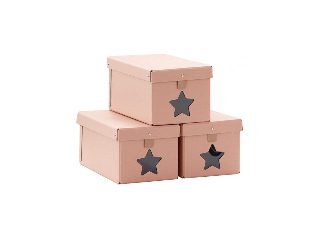 kids concept schuhboxen rosa