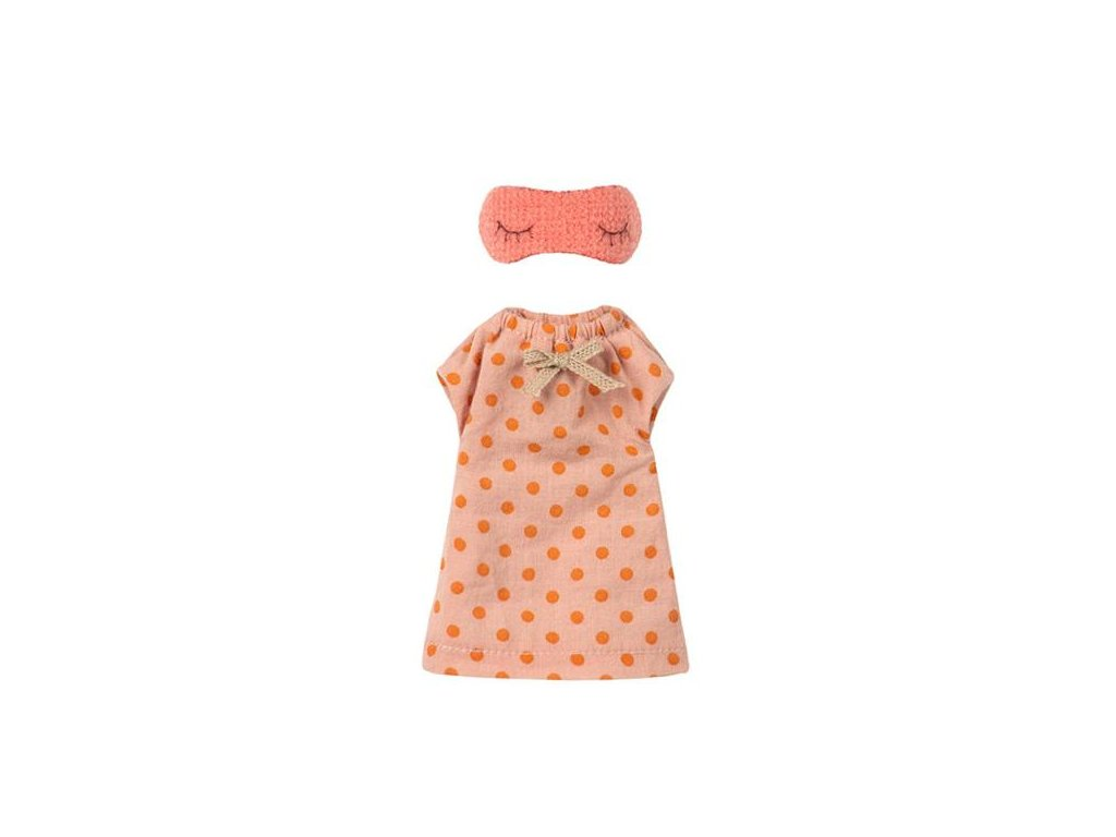 Maileg Nightgown for Mom Mouse Nachtjapon voor Mama Moeder Muis Elenfhant 600x600PX 800x