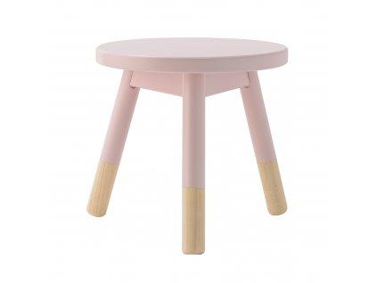 stolička růžová