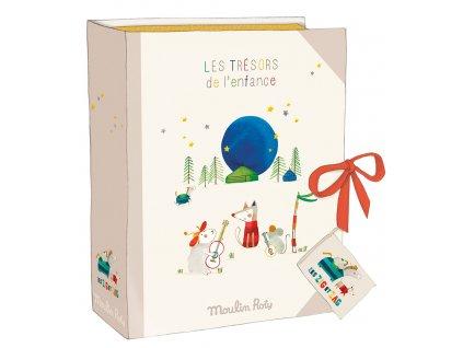 krabičky na poklady/ deník pro miminko