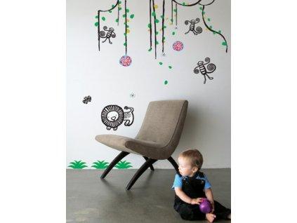 dekorace jungle