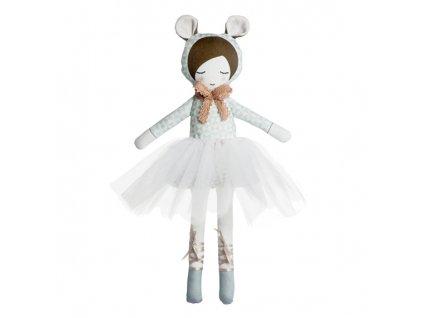 panenka balerina bledě modrá