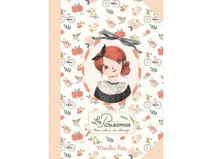 omalovánky Les Parisiennes
