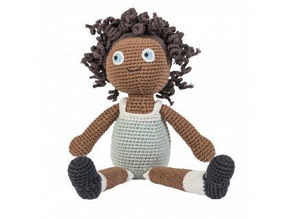panenka háčkovaná Lilly 40 cm