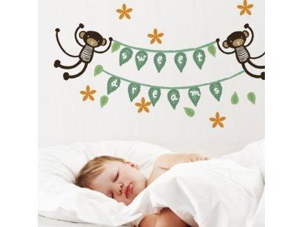 nápis monkey banner