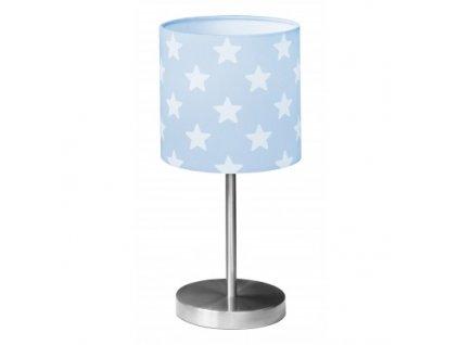 lampa stolní hvězdička modrá