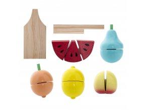 potraviny - ovoce ke krájení