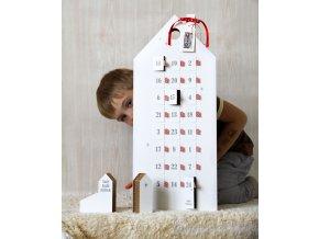 adventní kalendář s dopisem pro ježíška