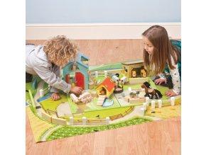 koberec na hraní