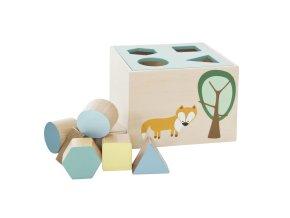 třídič tvarů dřevěný Forest boy