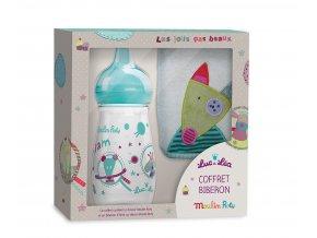 dětská lahev pro miminko s bryndáčkem