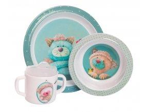 dětské nádobí kočky