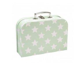 kufříky set 2ks hvězdičky mint