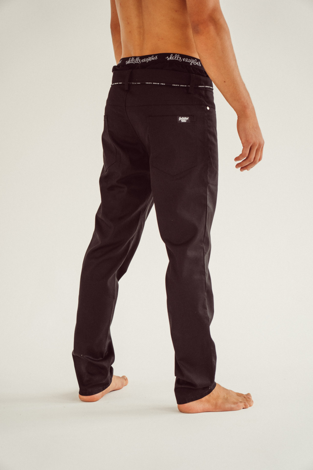 Pánské basic kalhoty černé