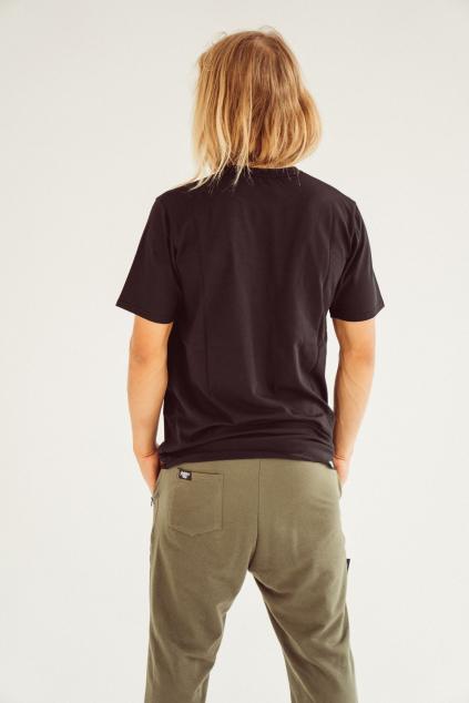 Pánské basic triko černé