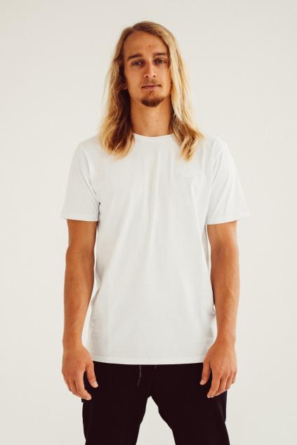 Pánské basic triko bílé