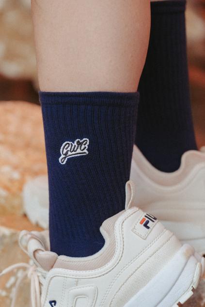 Ponožky, které pomáhají - navy blue