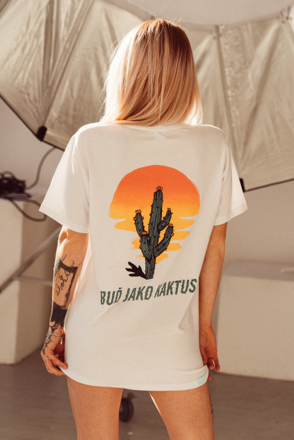 Pánské triko Kaktus