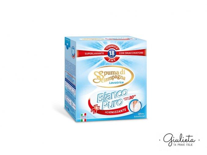 spuma di sciampagne bianco purro 2 in 1 1 kg