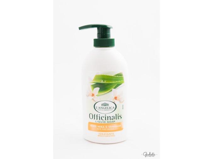 L'Angelica tekuté mýdlo Aloe/Vanilka, 300 ml