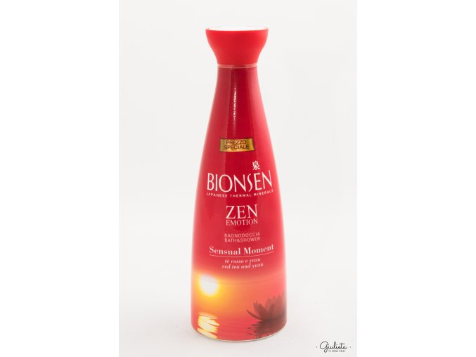 Bionsen sprchový gel/pěna do koupele Zen Emotion Sensual Moment, 500 ml