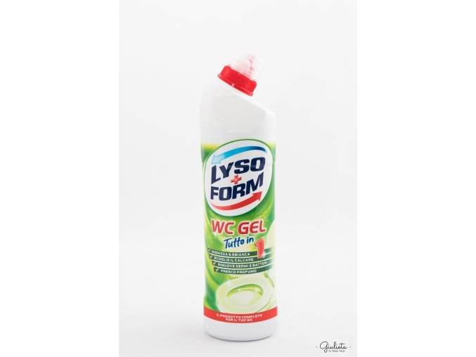 Lysoform WC gel zelený, 750 ml