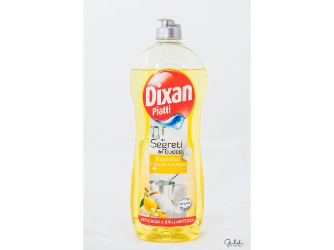 Dixan prostředek na mytí nádobí Bicarbonato e Scorza di Limone, 650 ml