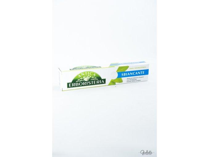 Antica Erboristeria Sbiancante zubní bělící pasta šalvěj/máta, 75 ml