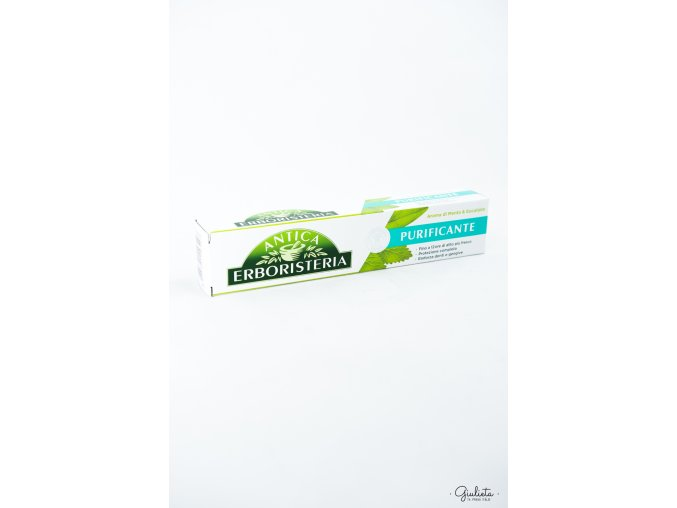 Antica Erboristeria zubní pasta máta/eucalyptus, 75 ml