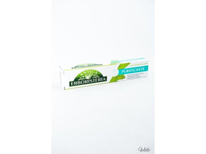 Antica zubní pasta máta/eucalyptus, 75 ml