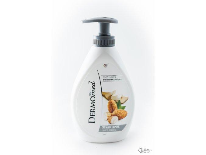 Dermomed tekuté mýdlo Karitè e Mandorla, 300 ml